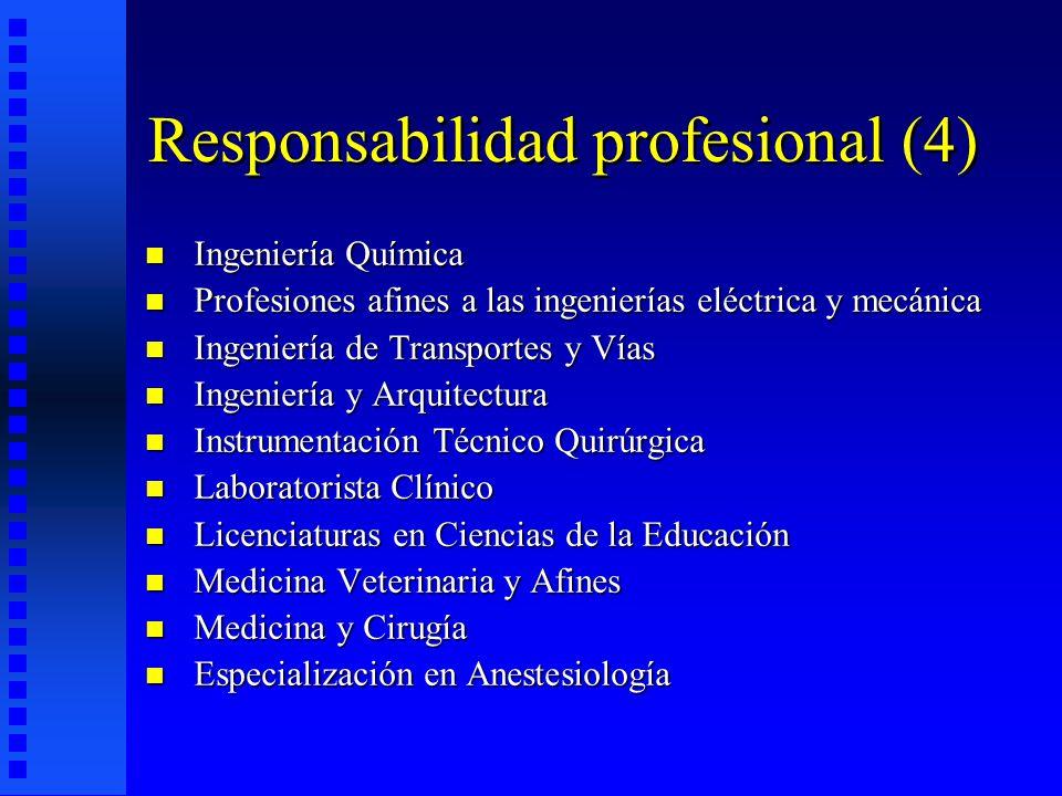Responsabilidad profesional (4)