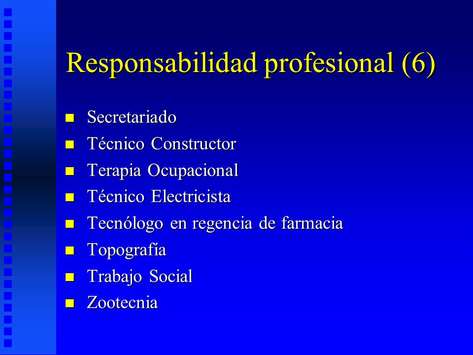 Responsabilidad profesional (6)