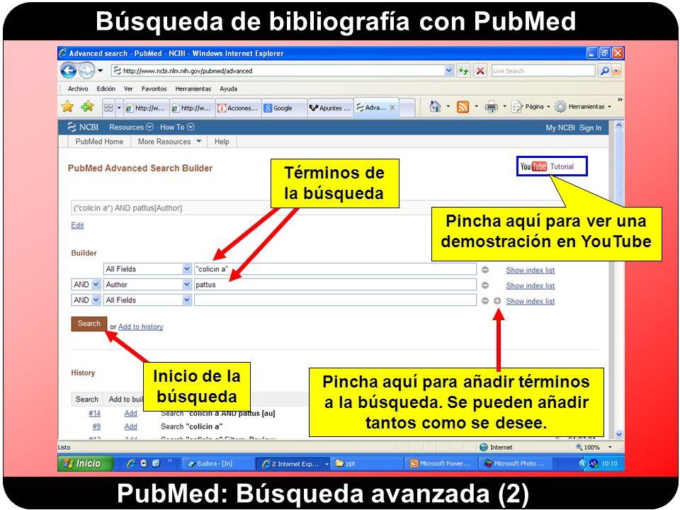 PubMed: Búsqueda avanzada (2)