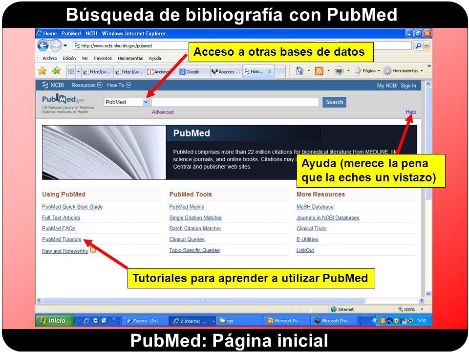 PubMed: Página inicial