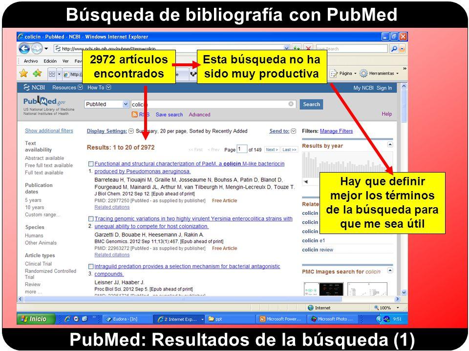 PubMed: Resultados de la búsqueda (1)
