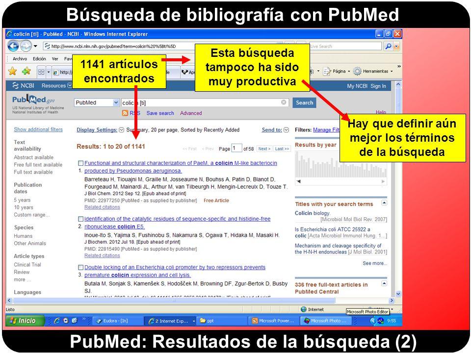 PubMed: Resultados de la búsqueda (2)