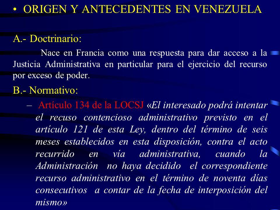 ORIGEN Y ANTECEDENTES EN VENEZUELA