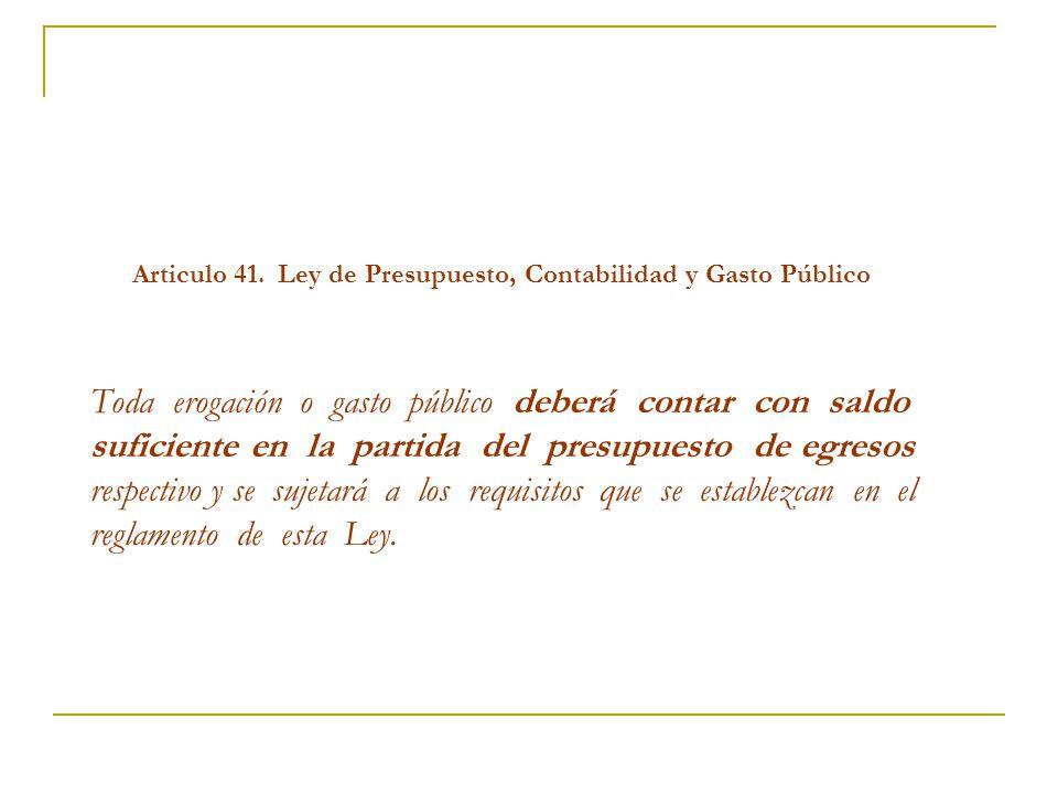 Articulo 41.