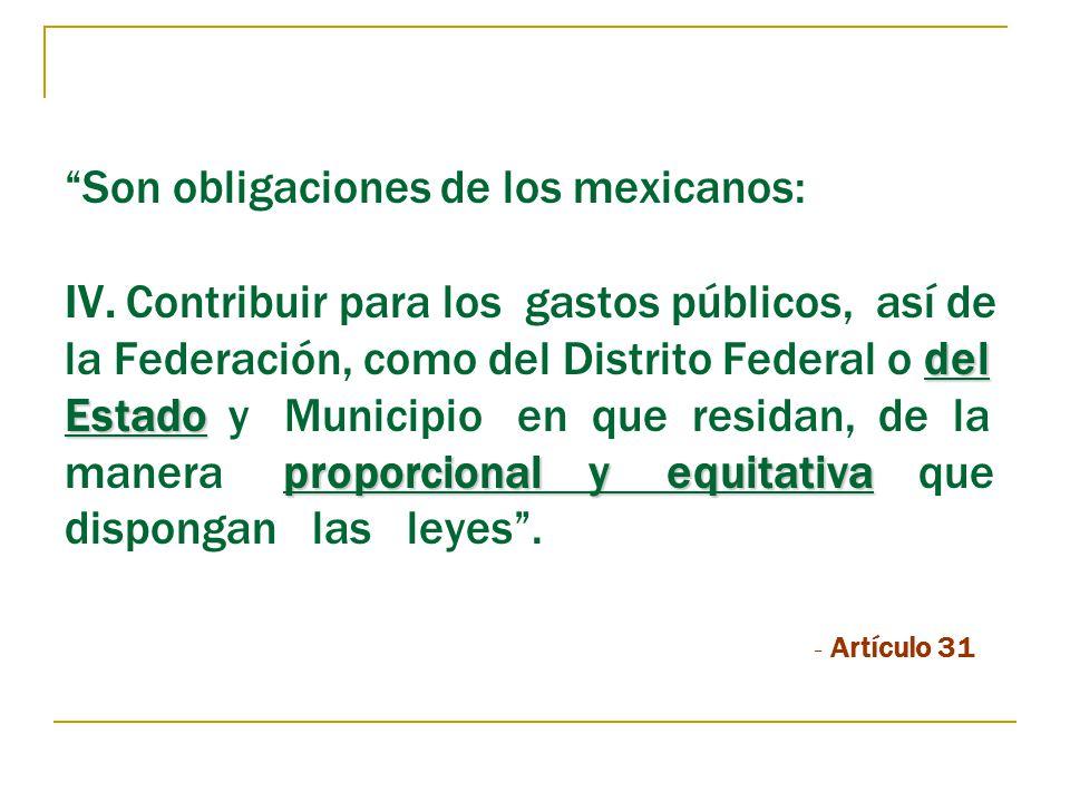 Son obligaciones de los mexicanos: IV
