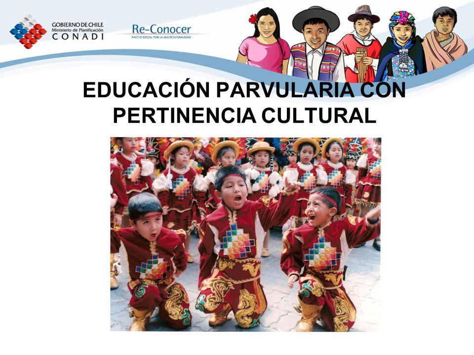 EDUCACIÓN PARVULARIA CON PERTINENCIA CULTURAL