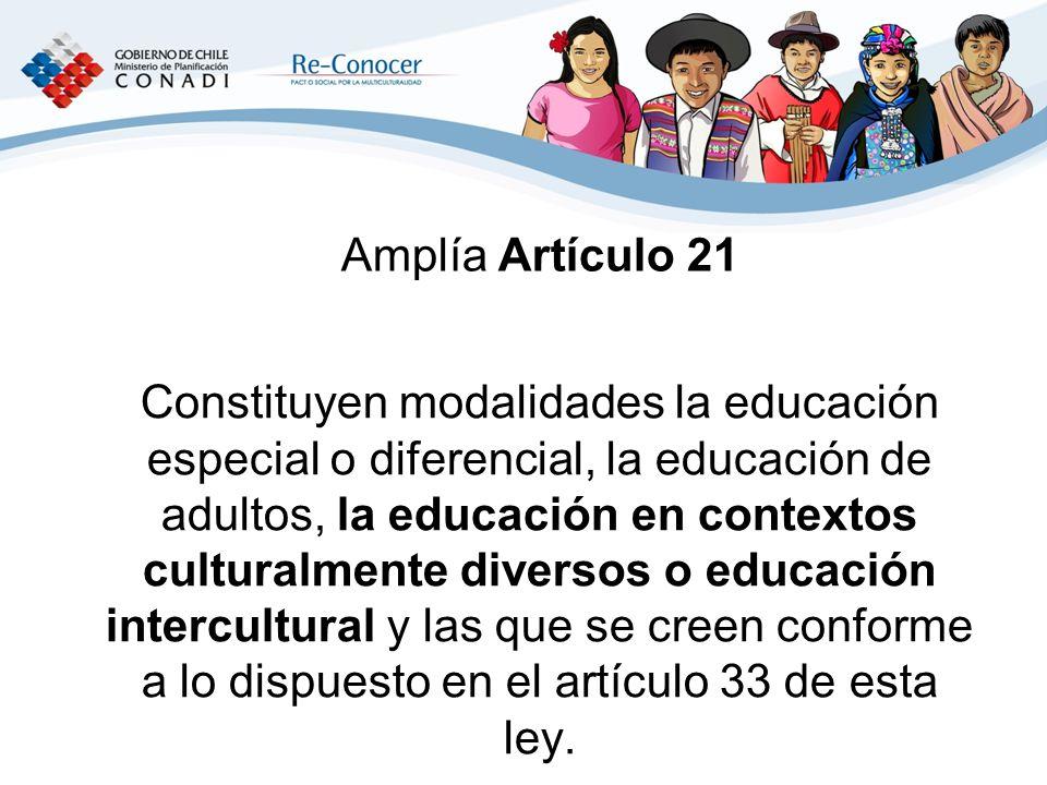 Amplía Artículo 21
