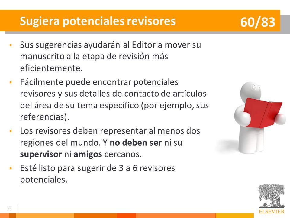 Sugiera potenciales revisores
