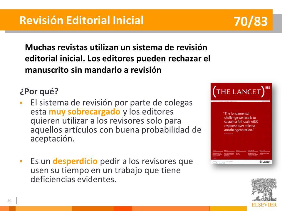 Revisión Editorial Inicial
