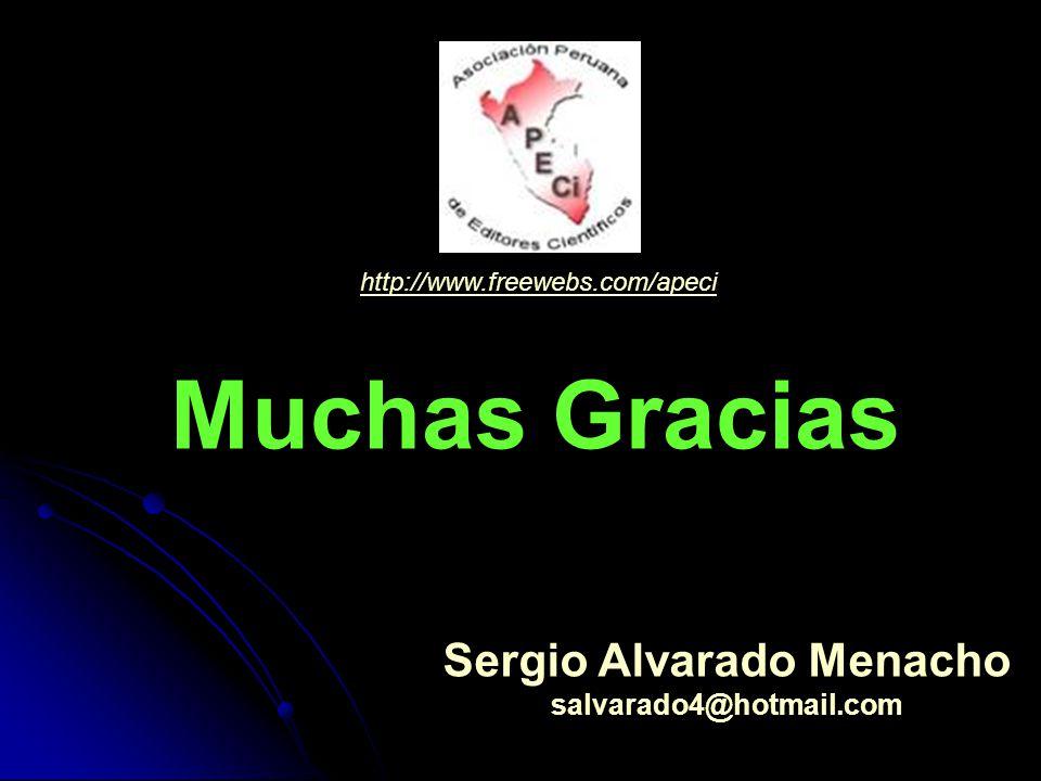 Sergio Alvarado Menacho
