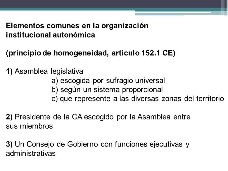 Elementos comunes en la organización