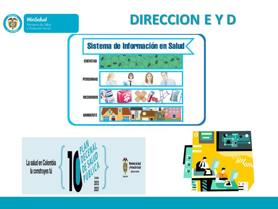 DIRECCION E Y D Decreto 4107 de 2011, Artículo 21: