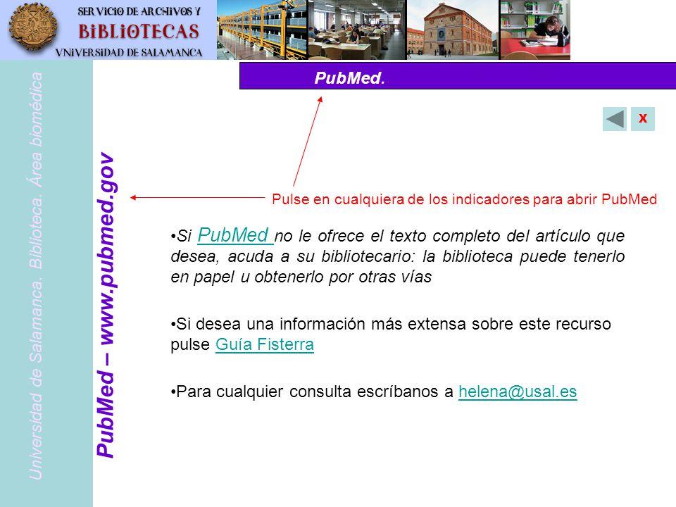 PubMed – www.pubmed.gov PubMed.