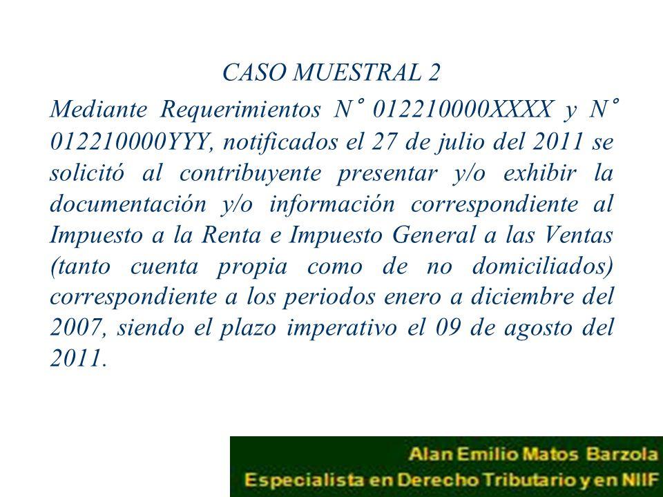 CASO MUESTRAL 2