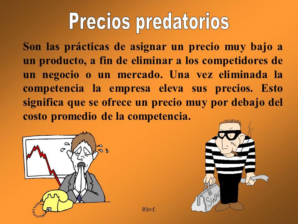 Precios predatorios