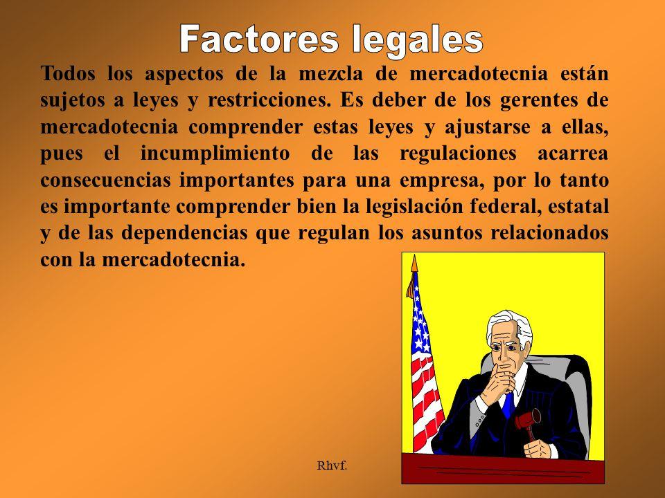 Factores legales