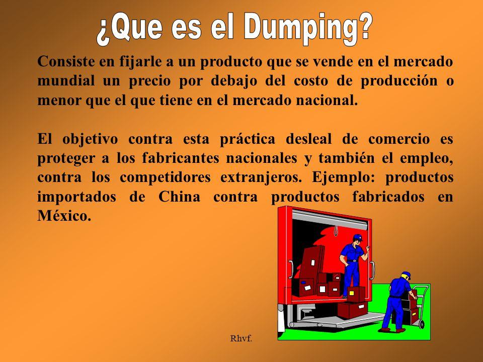 ¿Que es el Dumping