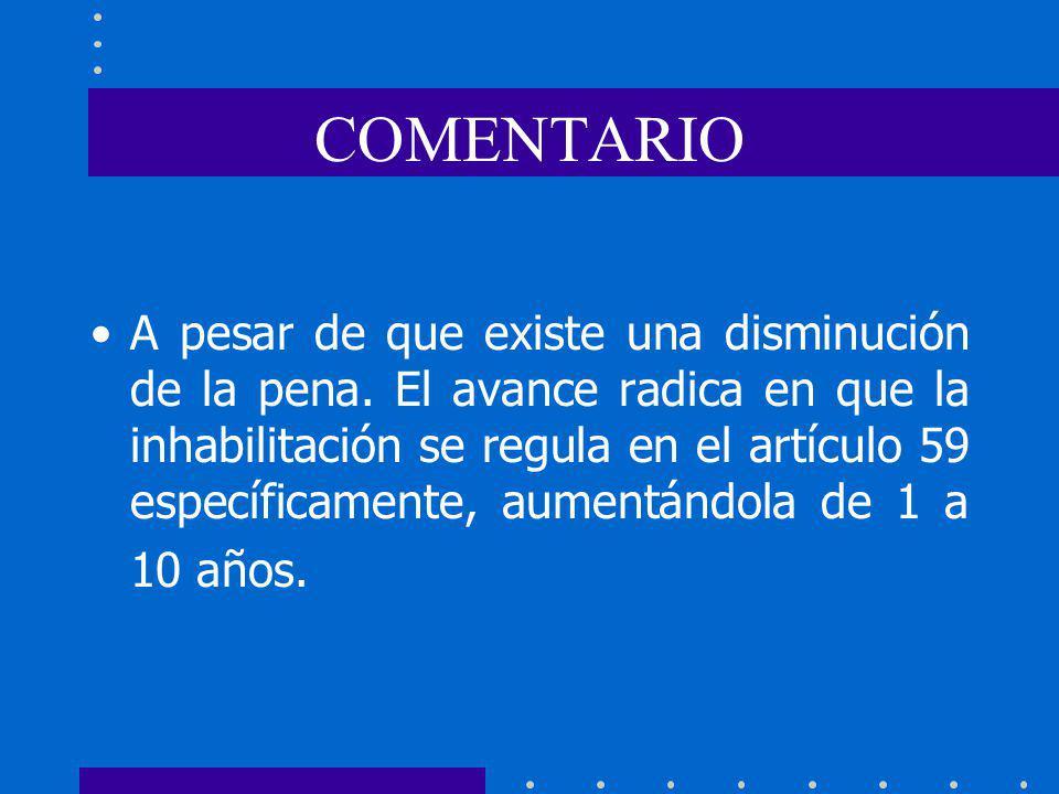 COMENTARIO
