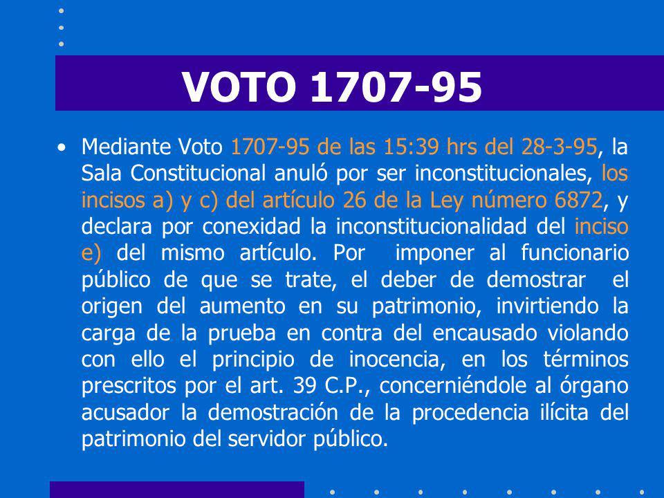 VOTO 1707-95