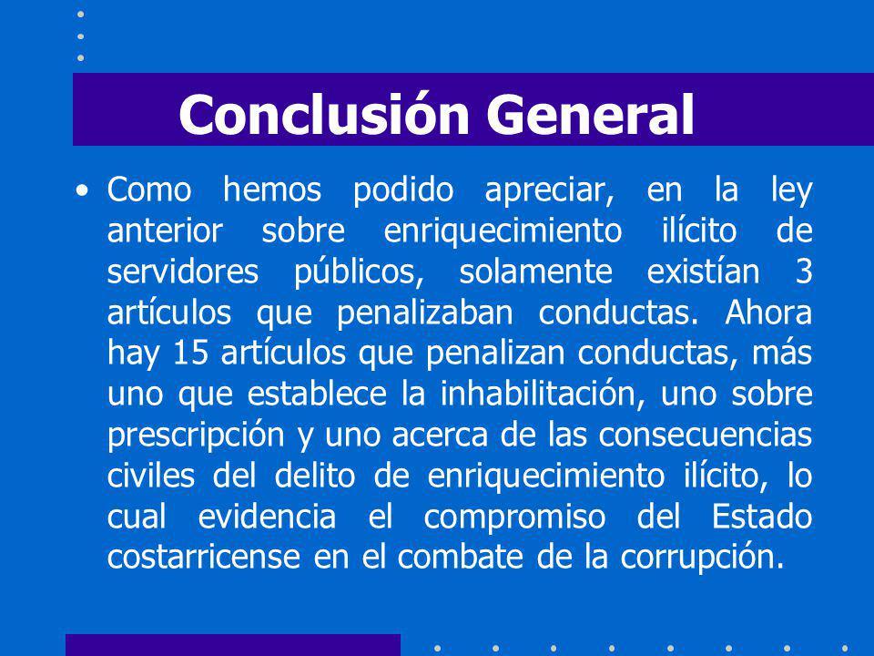 Conclusión General