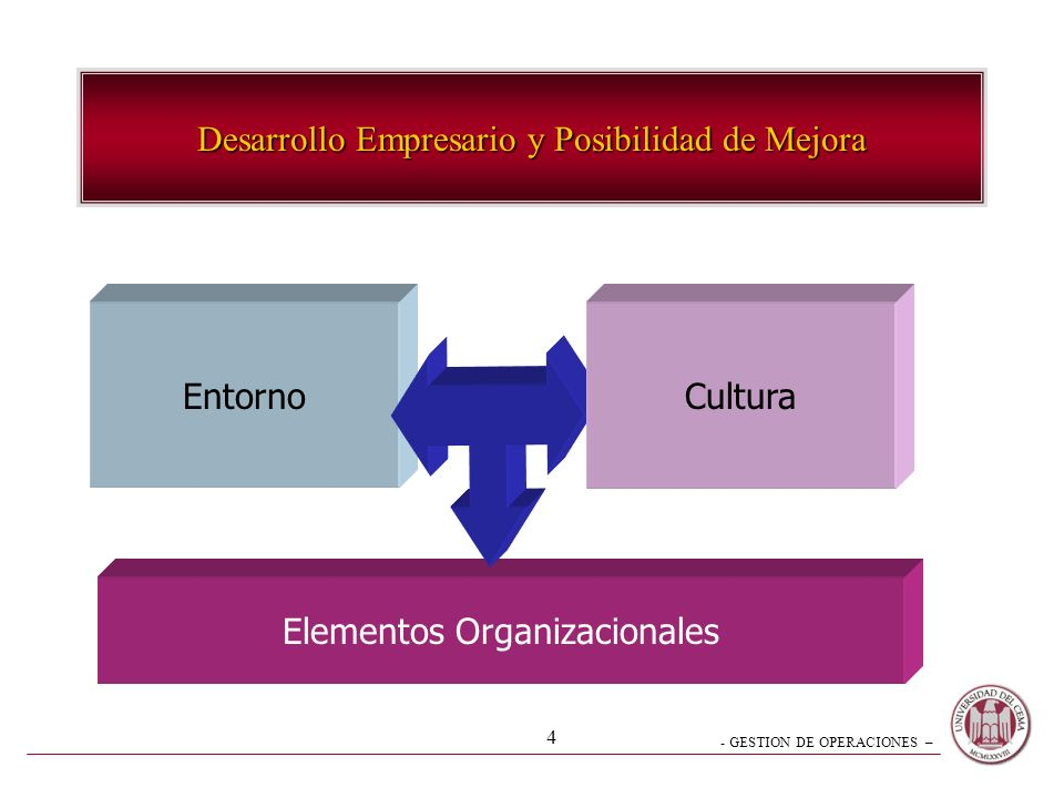 Desarrollo Empresario y Posibilidad de Mejora