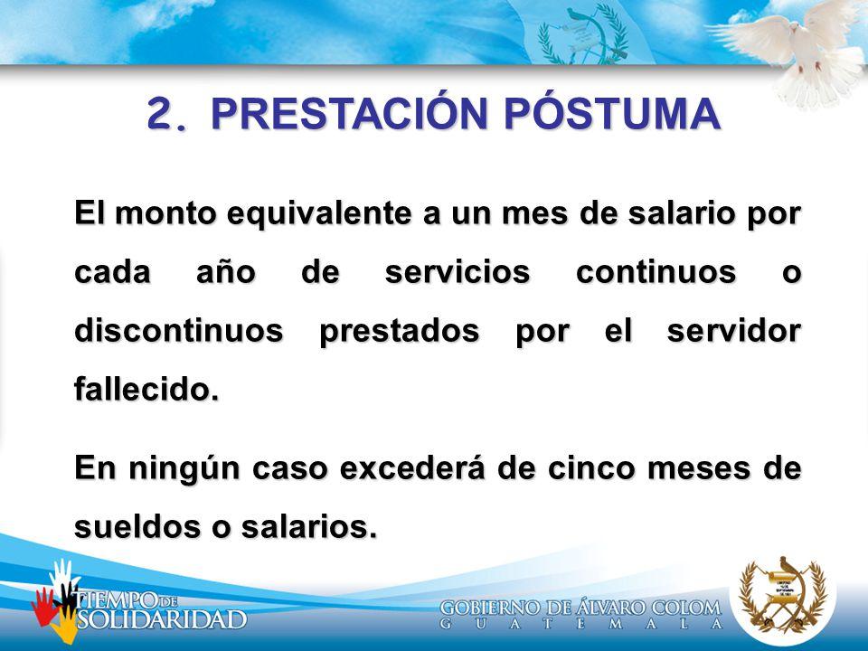2. PRESTACIÓN PÓSTUMA