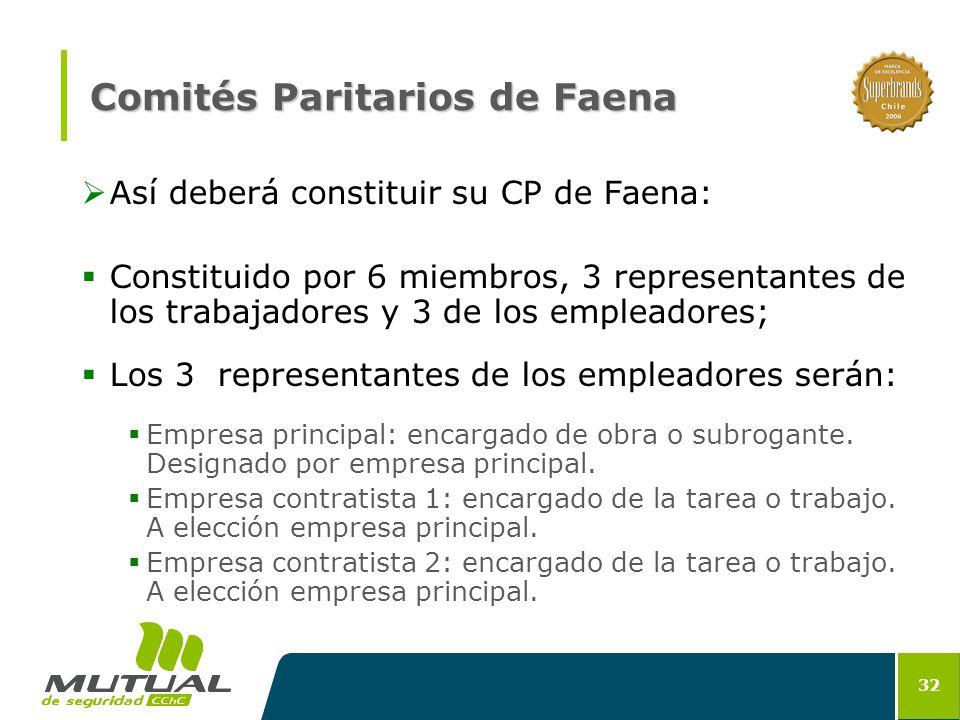 Comités Paritarios de Faena