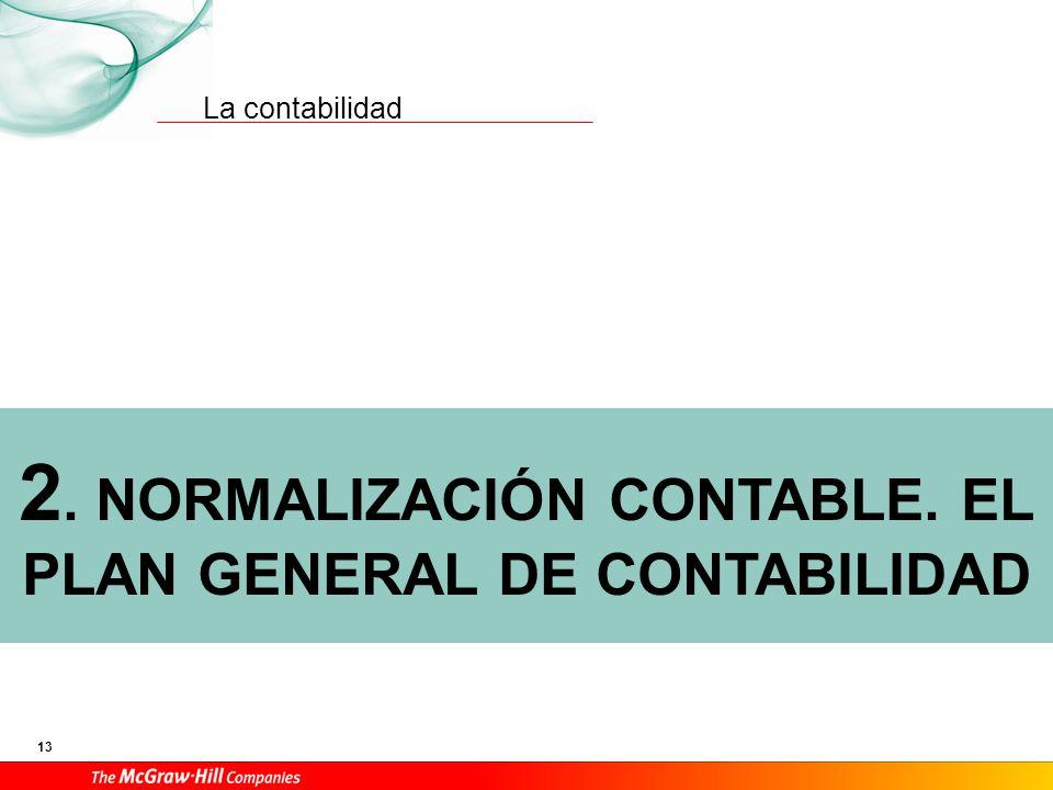 Normalización contable