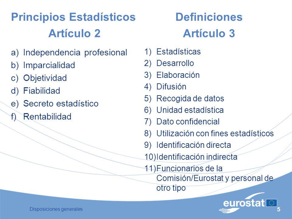 Artículo 2 Definiciones Artículo 3