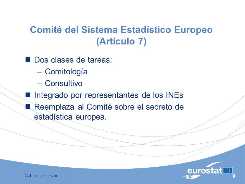 Comité del Sistema Estadístico Europeo (Artículo 7)