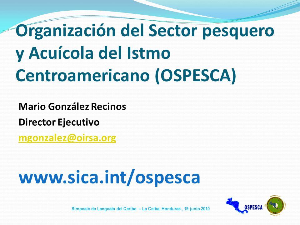 Organización del Sector pesquero y Acuícola del Istmo Centroamericano (OSPESCA)