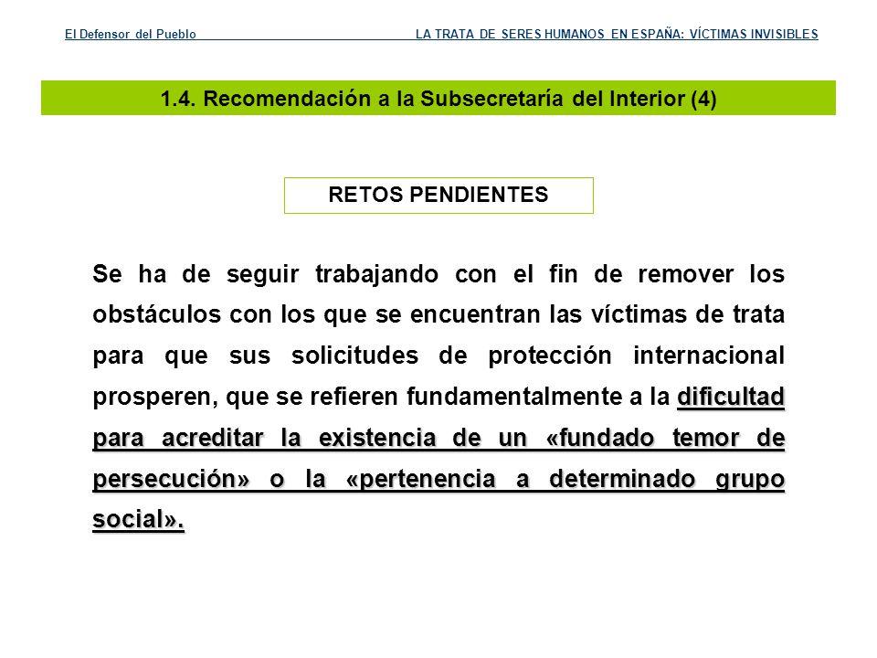 1.4. Recomendación a la Subsecretaría del Interior (4)