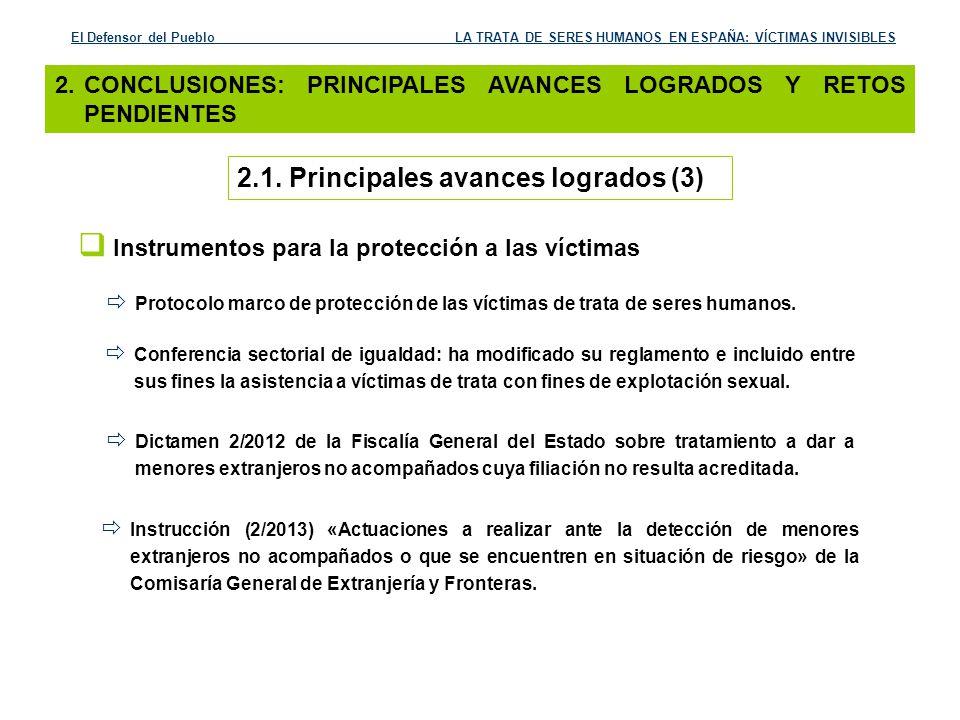 Instrumentos para la protección a las víctimas