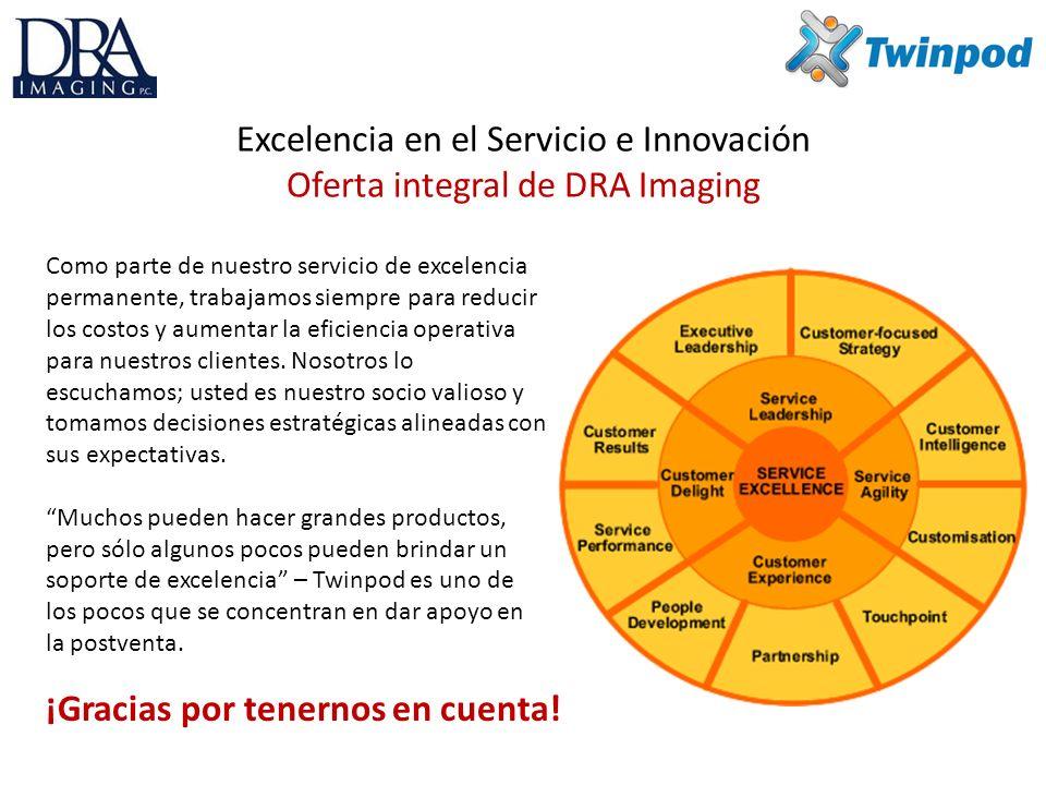 Excelencia en el Servicio e Innovación Oferta integral de DRA Imaging