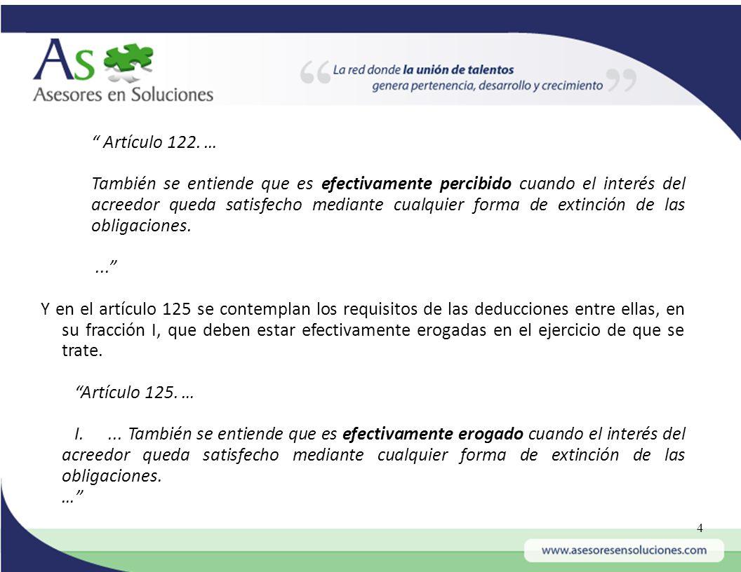 Artículo 122. …
