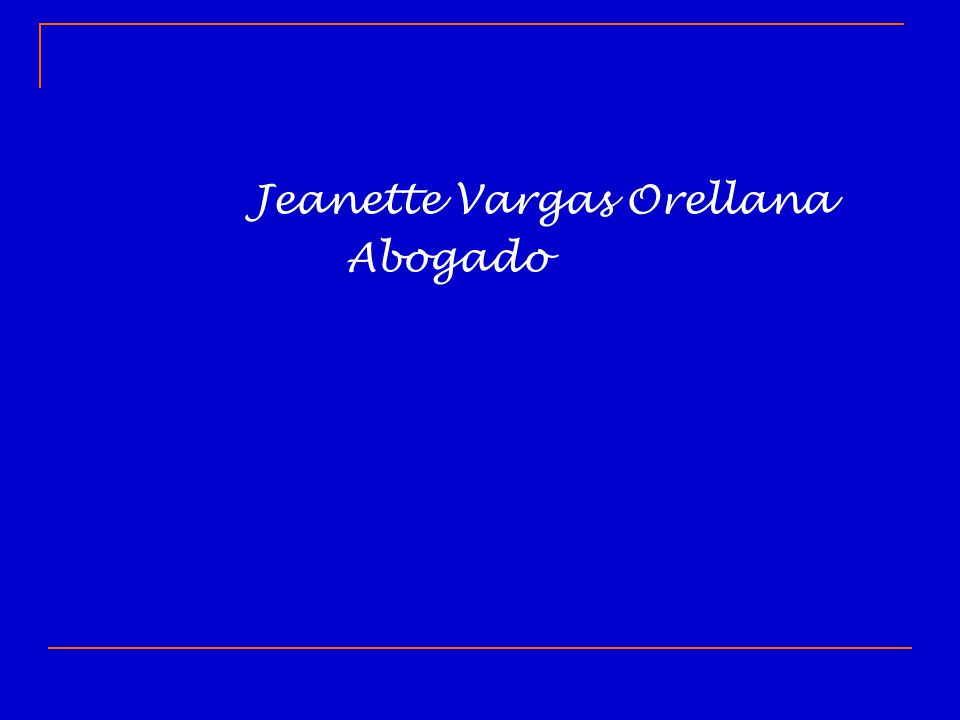 Jeanette Vargas Orellana