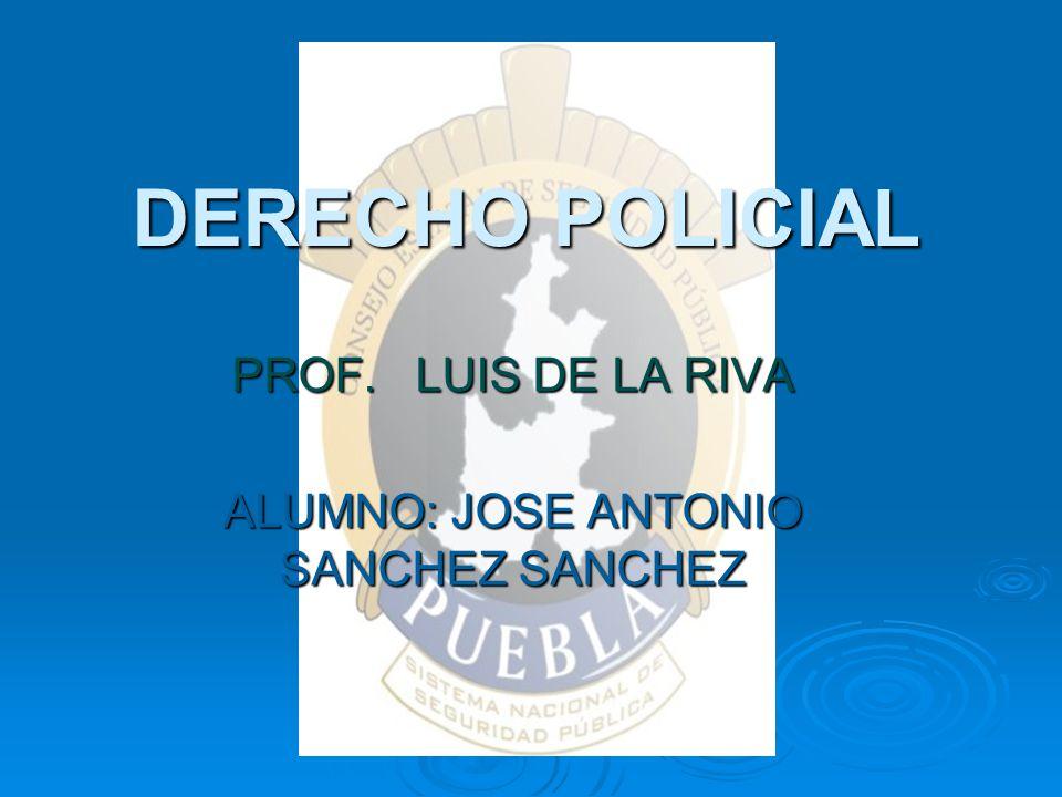 PROF. LUIS DE LA RIVA ALUMNO: JOSE ANTONIO SANCHEZ SANCHEZ