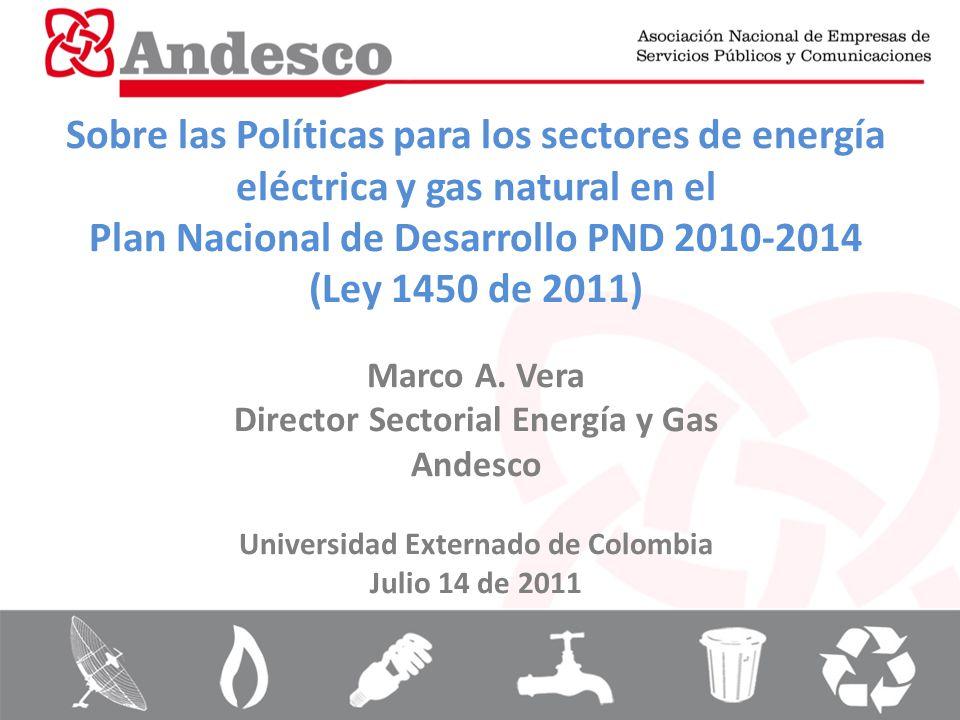Plan Nacional de Desarrollo PND 2010-2014 (Ley 1450 de 2011)