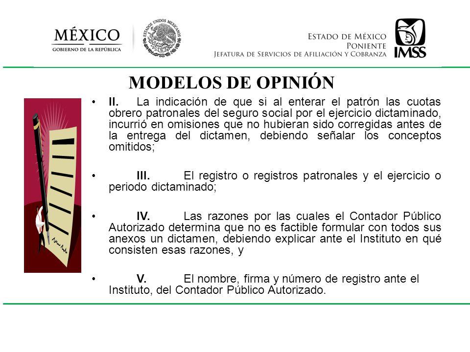MODELOS DE OPINIÓN