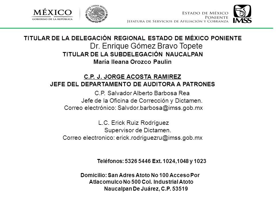Dr. Enrique Gómez Bravo Topete