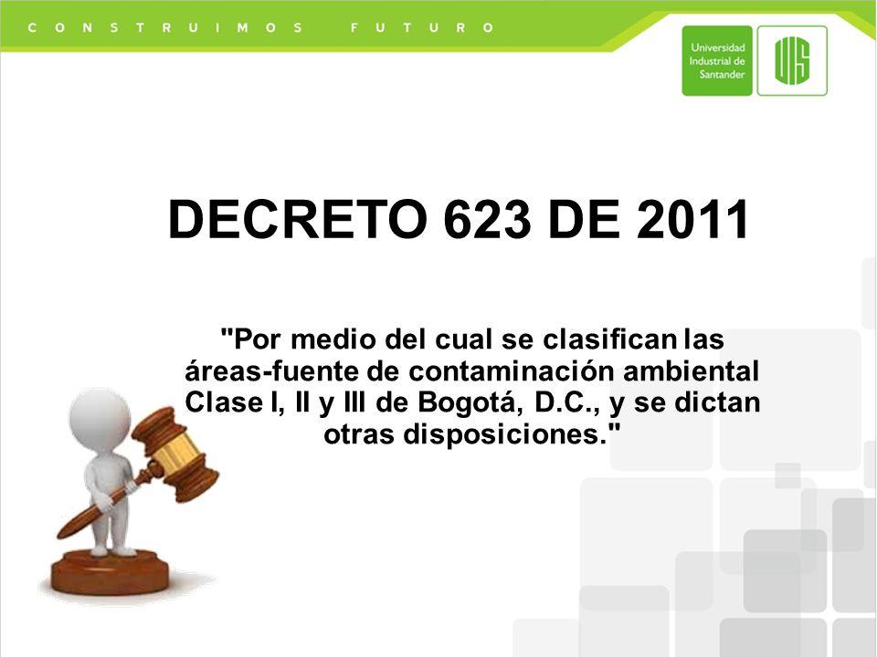 DECRETO 623 DE 2011