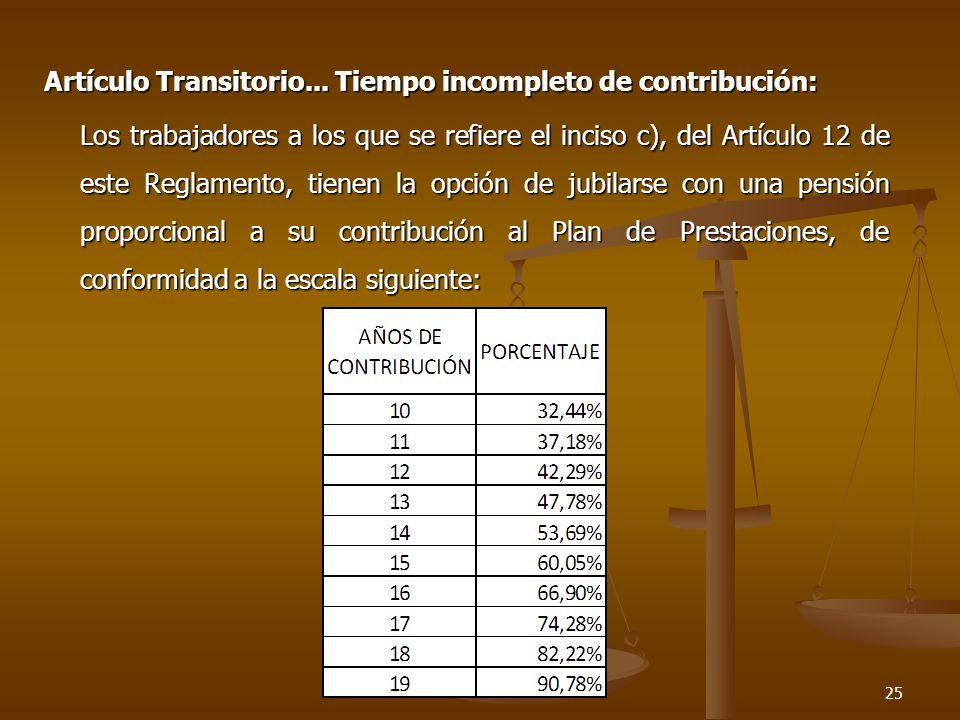 Artículo Transitorio...