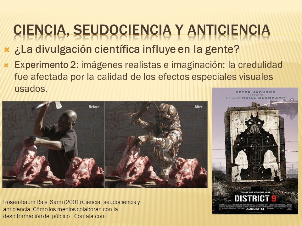 Ciencia, seudociencia y anticiencia