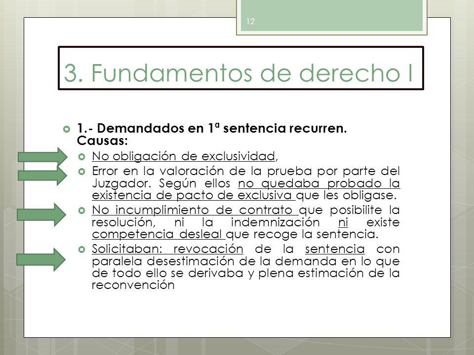 3. Fundamentos de derecho I