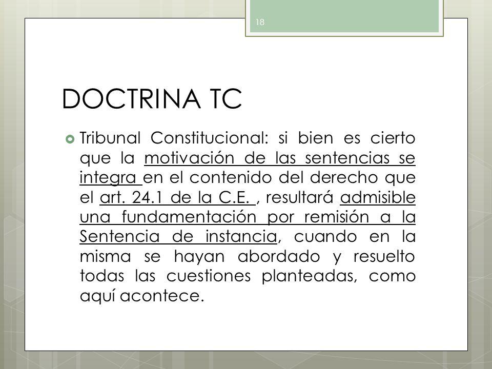 DOCTRINA TC