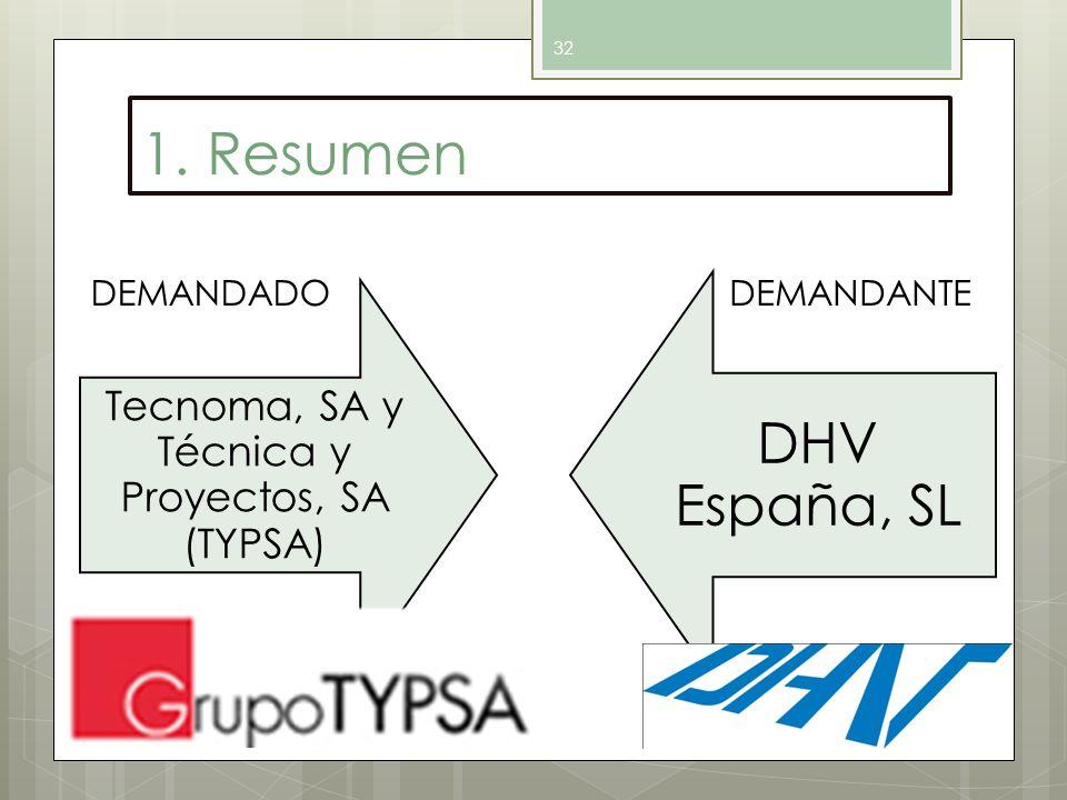Tecnoma, SA y Técnica y Proyectos, SA (TYPSA)