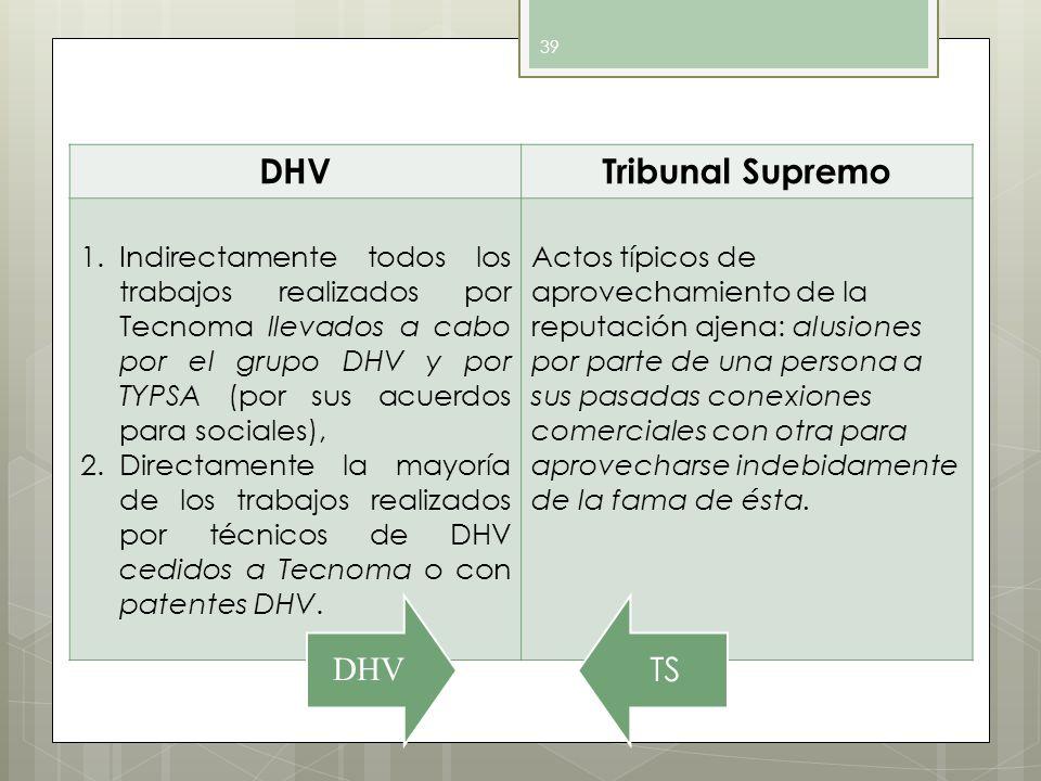 DHV Tribunal Supremo.