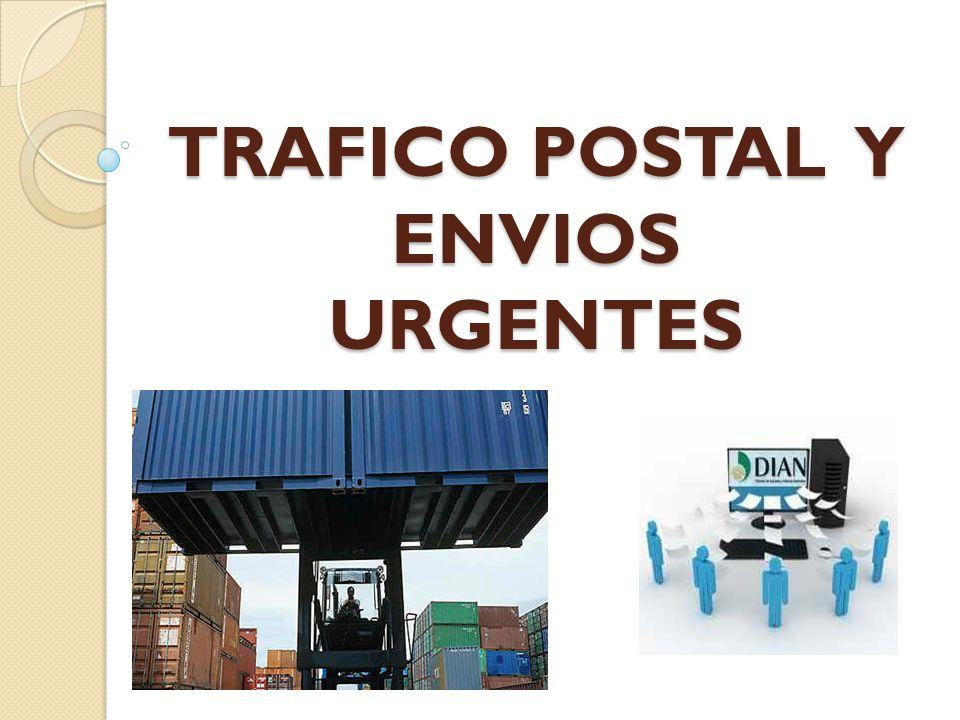 TRAFICO POSTAL Y ENVIOS URGENTES