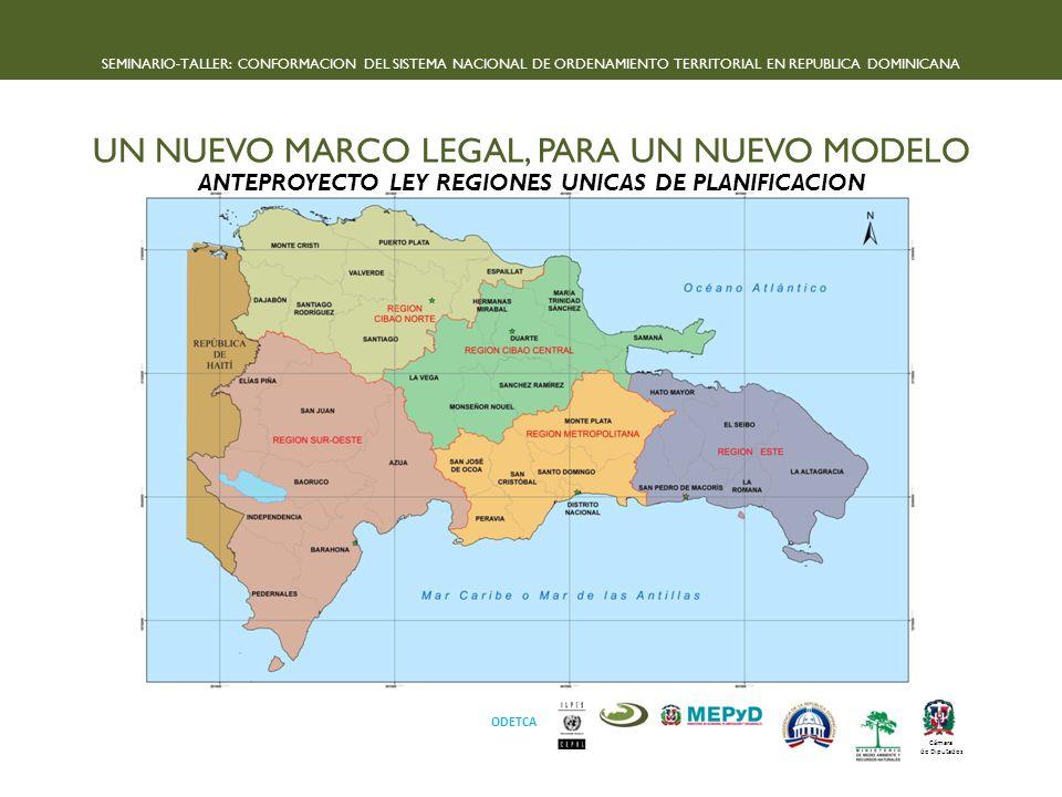 ANTEPROYECTO LEY REGIONES UNICAS DE PLANIFICACION