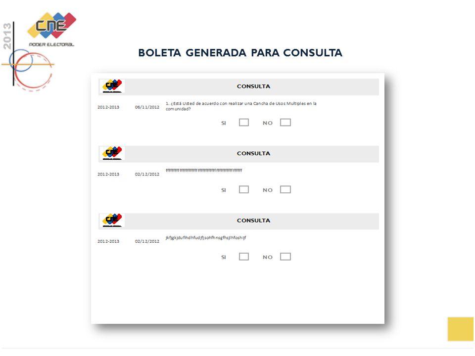 BOLETA GENERADA PARA CONSULTA